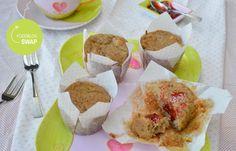 Foodblogswap: Rabarber muffins (glutenvrij en suikervrij) • Betty's Kitchen
