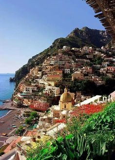 Positano, Amalfi coast! I've been obsessing over Italy for far too long. It's definitely time to start planning to make it happen! 1 year wedding anniversary trip maybe?