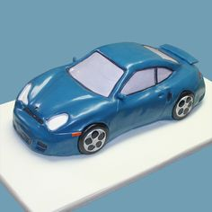 Porsche Birthday Cake by Kathy Dvorski Cakes