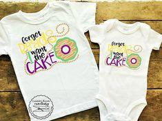 399a3162 Forget Beads I want Cake, Mardi Gras shirt, Mardi Gras shirt for  toddler/baby, King Cake shirt, New Orleans, Mardi Gras, Fat Tuesday Shirt