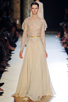 Elie Saab Fall 2012 Couture.