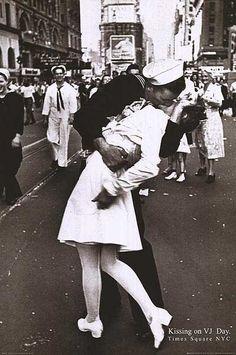 V-J Day September 2nd 1945, Times Square New York City, NY