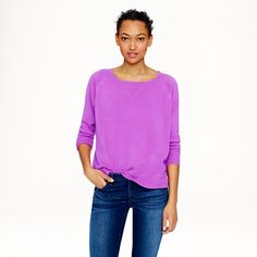 J.Crew - Collection cashmere sweatshirt