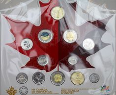 "2017 Canada 150 Circulation 12-Coin Collection, ""My Canada, My Inspiration"""