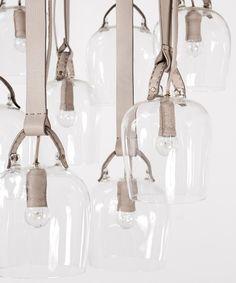 Leather Strap Lighting :: Fendi