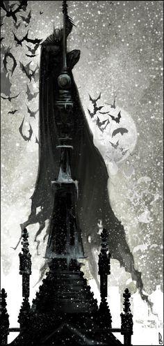 lulubonanza:    The Dark Knight by ~Happy-Mutt