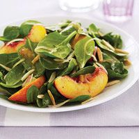 Spinach and Nectarine Salad - GoodHousekeeping.com