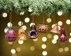 Gourd Southwest Christmas Ornament Set -Andean (3)