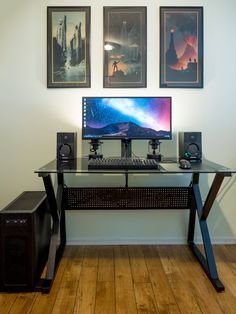 Got a new desk this week to clean up the battlestation