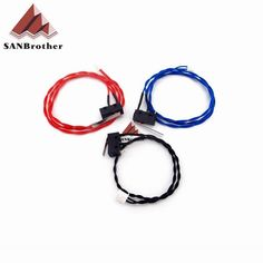 [Visit to Buy] UM2 3D printer Ultimaker 2 Extended + Limit Switch Kit Red Blue Black Cable Endstop  HX2.54 Connector #Advertisement