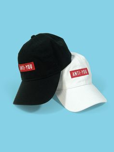 Anti You cotton Dad Hat. Available in different colors ee81d3b06e48