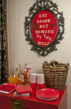Galeria Sweet Little Party: Red Riding Hood Party