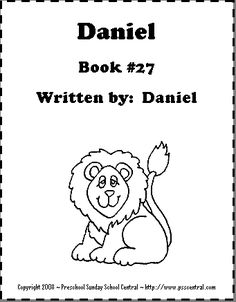 Books Of The Bible Cards Daniel Book 27