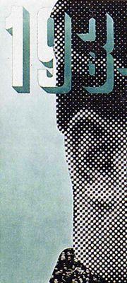 Xanti Schawinsky, '1934 – Year XII of the Fascist Era', poster, 1934