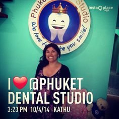 Patient from Chile @Phuket dental studio