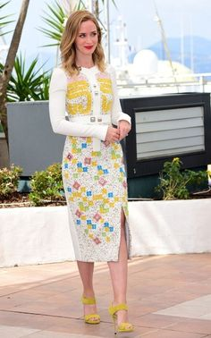 Emily Blunt Photos - 'Sicario' Photocall - The 68th Annual Cannes Film Festival - Zimbio