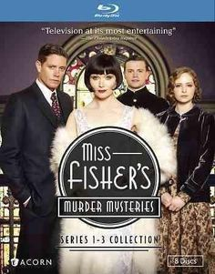 I like this series. Just discovered it on Netflix. ....Miss Fisher's Murder Mysteries: 1-3 Collection