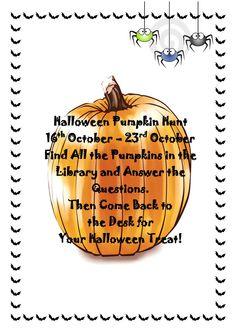 Halloween Pumpkin Hunt at Booth Lane