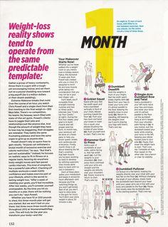Women's Health Excercises.      Do 3 x per week and do cardio 2-3 times per week