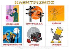 dreamskindergarten Το νηπιαγωγείο που ονειρεύομαι !: Λίστες αναφοράς για τον ηλεκτρισμό