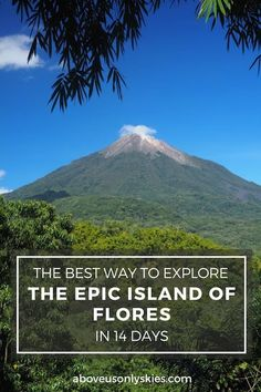 THE BEST WAY TO EXPLORE THE EPIC ISLAND OF FLORES IN 14 DAYS | Above Us Only Skies
