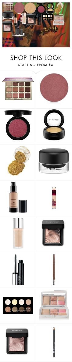 """""""Rihanna - Work - Makeup Tutorial"""" by oroartye-1 on Polyvore featuring beauty, tarte, Anastasia Beverly Hills, Morphe, MAC Cosmetics, Inglot, Maybelline, Bourjois, Clinique and NYX"""