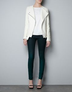 LEATHER STUDIO JACKET - Blazers - Woman - ZARA