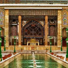 Entry of Golestan palace