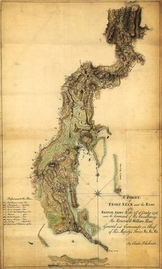 New York, 1776, Frog's Neck (Throggs Neck)