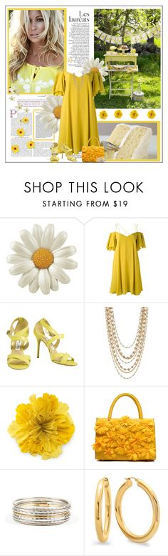"""""""Let's Eat Cake!!"""" by sherry7411 ❤ liked on Polyvore featuring Essentiel, Jimmy Choo, Madison Parker, Gucci, Roberto Coin, polyvorecontest and dreamydresses"""
