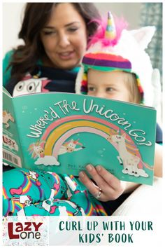 Are you and your little one ready for an adventure? Travel to far off lands of wonder with rainbows and unicorns as your magical guide! Make bedtime magical for a majestic night of sleep. What could be more magical than a colorful unicorn carrying you off to sweet dreams? Nothing! Ride away into a rainbow sky with this mythical beast on your favorite unicorn PJs and more with our selection of colorful choices. Kids Pajamas, Pjs, Rainbow Sky, Matching Pajamas, How To Make Bed, Funny Design, Family Christmas, Unicorns, Bedtime