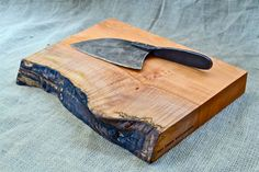 Tough Guy Cutting Board, Extra Thick with a Natural Wood Edge 358    http://www.etsy.com/listing/81532549/tough-guy-cutting-board-extra-thick-with