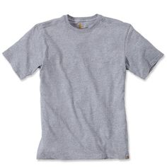 Carhartt Maddock non pocket tshirt 101124 034 Heather Grey
