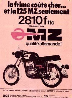 MZ - La qualité allemande en 1974