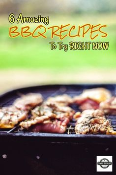 Amazing BBQ Recipes To Try Right Now ⋆ Mouth Watering Grilled Chicken - 6 Amazing BBQ Recipes To Try Right Now. Here are the most amazing BBQ recipes that I could find tha - Grilled Chicken Kabobs, Chicken Kabob Recipes, Chicken Flavors, Best Bbq Recipes, Honey Recipes, Yummy Eats, Yummy Food, Lemon Rosemary Chicken, Homemade Barbecue Sauce