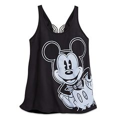Mickey Mouse Fashion Tank Top with Bow for Women - Disney Boutique