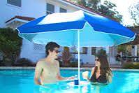 Image result for floating pool umbrella