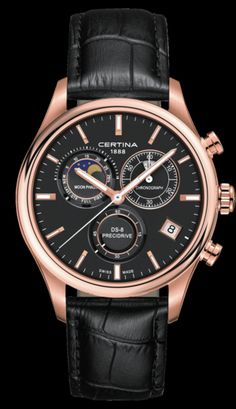 Discover a large selection of Certina watches on - the worldwide marketplace for luxury watches. Compare all Certina watches ✓ Buy safely & securely ✓ Swiss Made Watches, Fine Watches, Men's Watches, Vintage Pocket Watch, Dream Watches, Luxury Watches For Men, Beautiful Watches, Vintage Watches, Moon