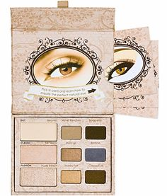 Too Faced - Natural Eye Palette...one of my favorite kits for an everyday eye look that's effortless and foolproof