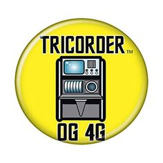 Star Trek Tricorder Button @ niftywarehouse.com #NiftyWarehouse #StarTrek #Trekkie #Geek #Nerd #Products