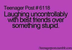 Yes!! My best friends Lexi and Jayden this happens to us all the time.