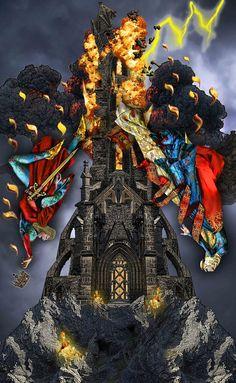 The Tower ~ Tarot Illuminati ~ *Elric2012 on deviantART