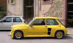 Renault 5 Turbo Yellow