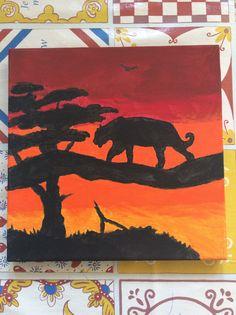Leeuwin zonsondergang Afrika