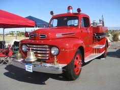 1948 Ford Fire Truck ★。☆。JpM ENTERTAINMENT ☆。★。
