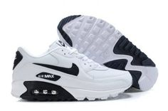 Nike Air Max 90 Mens White Black Trainers UK