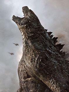 More awesome Godzilla artwork Godzilla Vs King Ghidorah, King Kong Vs Godzilla, Godzilla Godzilla, Godzilla Comics, Old Posters, Godzilla Wallpaper, Wallpaper Art, Dragons, Classic Monsters