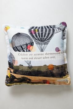 Petherton Pillow - Anthropologie.com. Another great pillow for bedroom.#pintowin #anthropologie