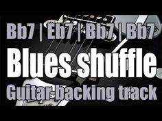 Blues backing track for guitarist - Chord progression : Jazz Guitar Lessons, Music Lessons, Learning Guitar, Playing Guitar, Guitar Songs, Guitar Chords, Piano Tabs, Guitar Chord Chart, Slide Guitar
