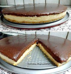Χριστίνας....Μαγειρέματα!: Γλυκό Ψυγείου Σοκολάτα-Βανίλια Με Βάση Μπισκότο!